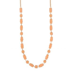 KATE SPADE • Pretty In Peach Stone Necklace